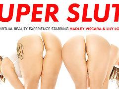 SUPER SLUTS featuring Hadley Viscara and Lily Love