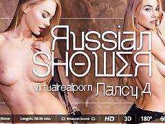 Nancy A in Russian shower - VirtualRealPorn