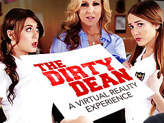 The Dirty Dean - New VR Porn Experience starring Julia Ann, JoJo Kiss, and Samantha Hayes - NaughtyAmericaVR