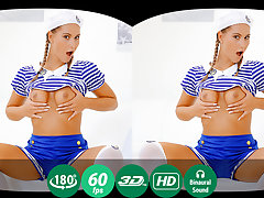 Naomi Bennet in Cute Sailor Cosplayer Shows Her Skills In Vr Solo - TMWVRNet