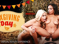 Anya Ivy  Bridgette B in SexGiving Day - VRBangers