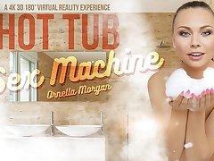 Ornella Morgan in Hot Tub Sex Machine - VRBangers