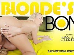Karol Lilien  Vinna Reed in Blonde's Bond - VRBangers