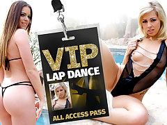 Jenna Jay  Zoey Monroe in VIP Lap Dance - WankzVR