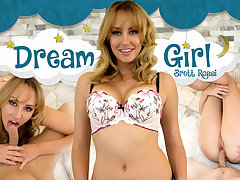 Brett Rossi in Dream Girl: Brett Rossi - WankzVR