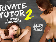 Alina West in Private Tutor 2 - WankzVR