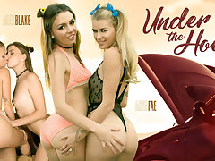 Alex Blake  Arya Fae in Under the Hood - WankzVR