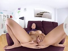 VIRTUAL TABOO - Kinky Katrina With Big Butt Masturbating