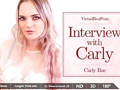 Carly Rae  Miguel Zayas in Interview with Carly - VirtualRealPorn