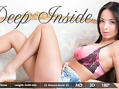 Anissa Kate  Miguel Zayas in Deep Inside - VirtualRealPorn