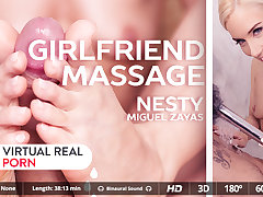 Miguel Zayas  Nesty in Girlfriend massage - VirtualRealPorn