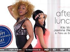 Antonio Black  Kiki Minaj  May Thai in Express delivery - VirtualRealPorn